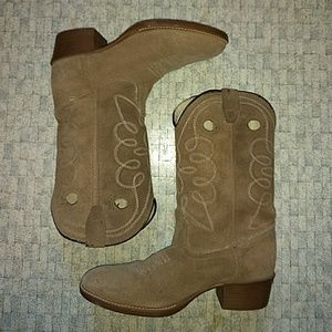 Other - Kid's Suede Cowboy Boots